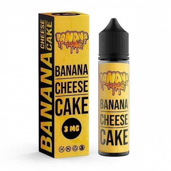 Chuối Phô Mai - Banana Cheese Cake 3mg/60ml