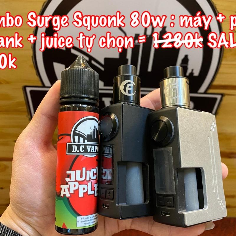 SUPER SALE COMBO SURGE SQUONK 80W