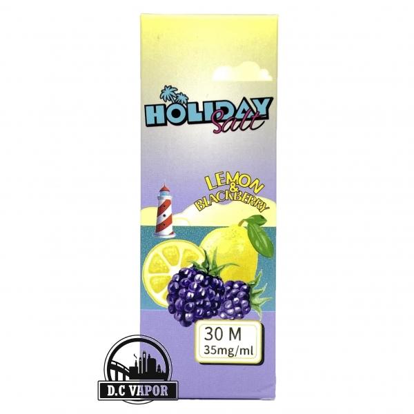 Chanh Việt Quất Lạnh - Holiday - Lemon Blackberry 35mg/30ml