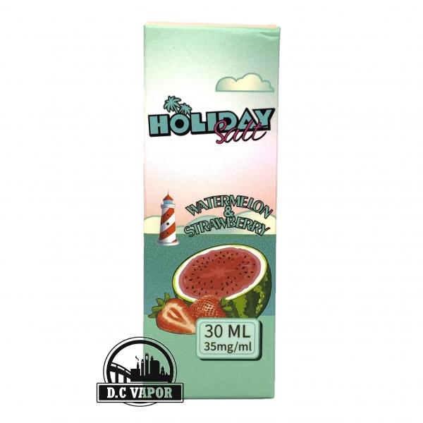 Dâu Dưa Hấu Lạnh - Holiday - Watermelon Strawberry 35mg/30ml