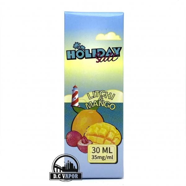 Vải Xoài Lạnh - Holiday - Litchi Mango 35mg/30ml