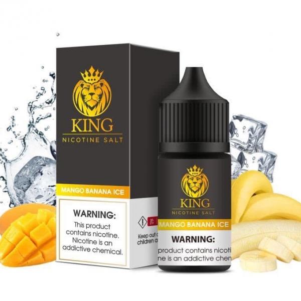 Xoài Chuối Lạnh -King Mango Banana Ice 30mg/30ml