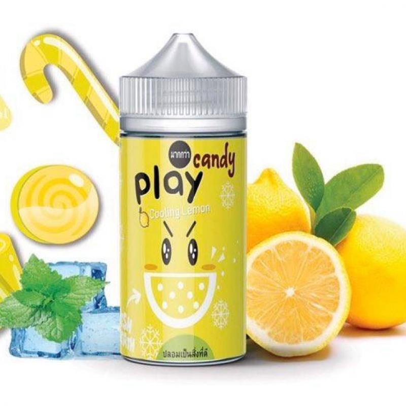 Kẹo chanh lạnh - Play Candy Cooling Lemon (100ml/3mg)