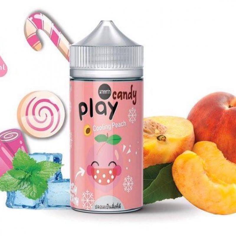 Kẹo đào lạnh - Play Candy Cooling Peach  (100ml/3mg)