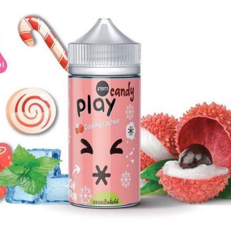 Kẹo vải lạnh - Play Candy Cooling Lyche (100ml/3mg)