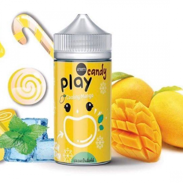Kẹo xoài lạnh - Play Candy Cooling Mango (100ml/3mg)