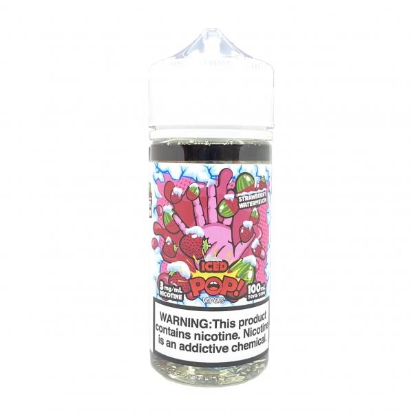 Dâu dưa hấu lạnh - Iced POP Strawberry Watermelon (100ml/3mg-6mg)