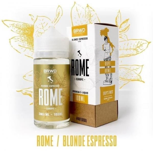 Cafe Espresso -  BRWD Rome Blonde Espresso 3mg/100ml