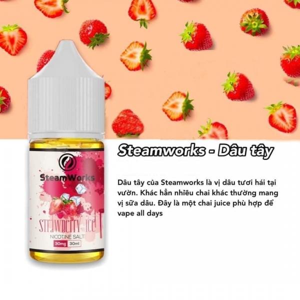 Dâu Lạnh - Steamwork Strawberry 30mg/30ml