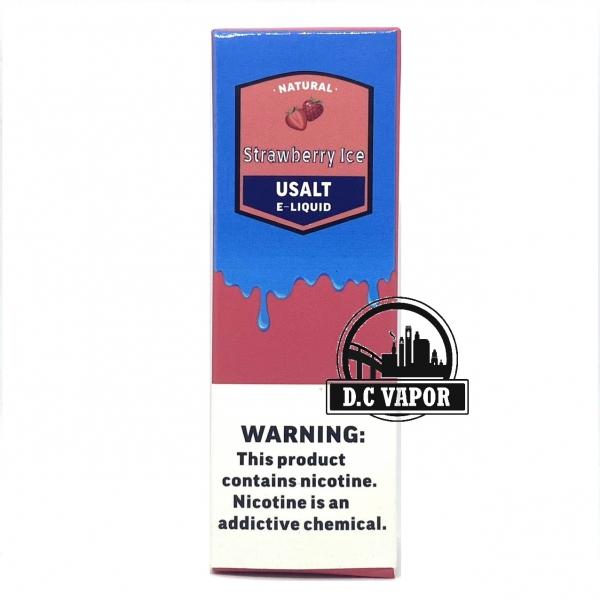 Dâu Lạnh - Usalt - Strawberry 30mg/30ml