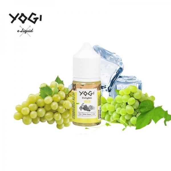 Nho Lạnh - Yogi White Grape 35mg/30ml
